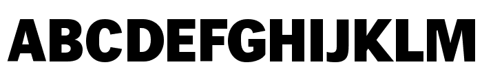 Wendelin-Fett Font UPPERCASE