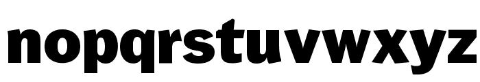 Wendelin-Fett Font LOWERCASE
