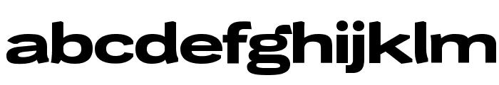 WendelinBreitfett Font LOWERCASE