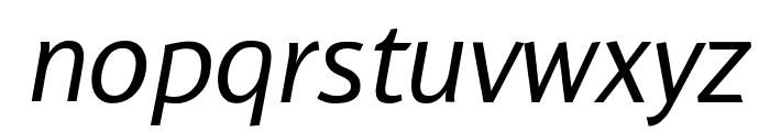 WendelinNormalKursiv Font LOWERCASE
