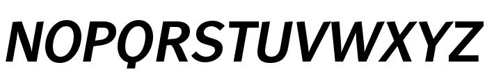 WendelinReduced-BoldItalic Font UPPERCASE