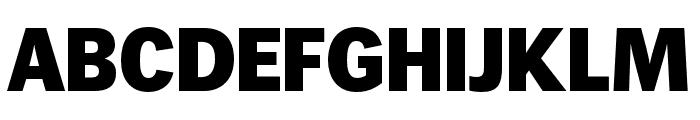 WendelinReduced-Fett Font UPPERCASE
