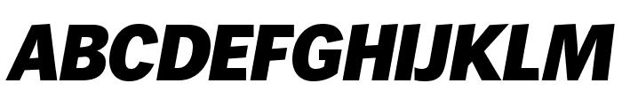 WendelinReduced-FettKursiv Font UPPERCASE