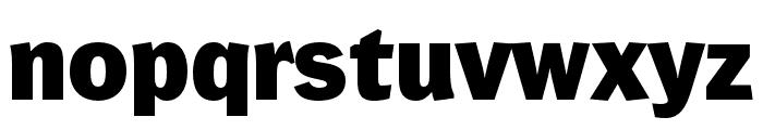 WendelinReduced-Fett Font LOWERCASE