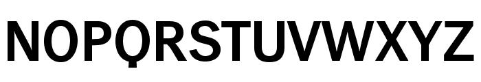 WendelinReduced-Halbfett Font UPPERCASE
