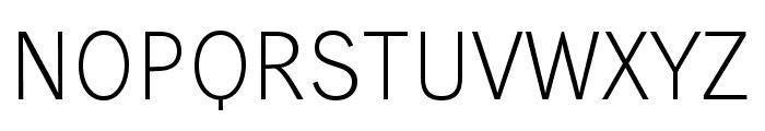 WendelinReduced-Leicht Font UPPERCASE