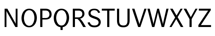 WendelinReduced-Normal Font UPPERCASE