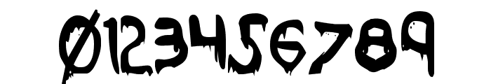 Were-Beast Condensed Font OTHER CHARS