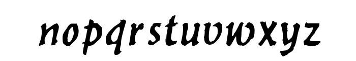 Werewolf Font LOWERCASE