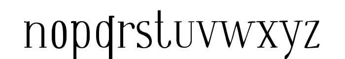 Wes Font LOWERCASE
