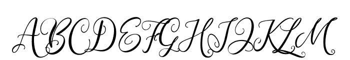 WestCousin Font UPPERCASE