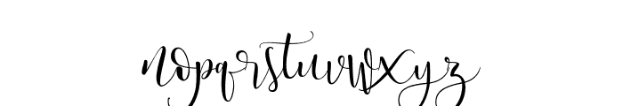 WestCousin Font LOWERCASE