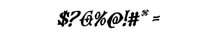 Westdelphia Rotalic Font OTHER CHARS