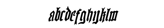 Westdelphia Rotalic Font LOWERCASE