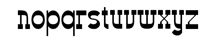 Western Eastern Font LOWERCASE
