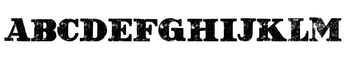 Western Grungy by Marta van Eck Font UPPERCASE