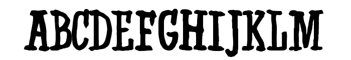 Western Swagger DEMO Font UPPERCASE