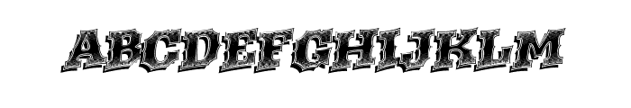 WesternRacing Font UPPERCASE