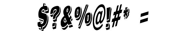 WesternSlant Regular Font OTHER CHARS