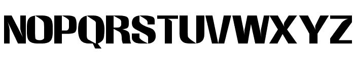 Westinghouse Regular Font UPPERCASE