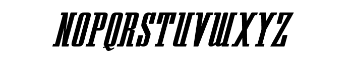 Westminster NDP Italic Font UPPERCASE