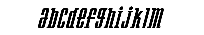 Westminster NDP Italic Font LOWERCASE