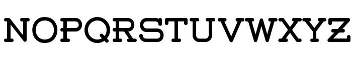 Weston-Free Font LOWERCASE