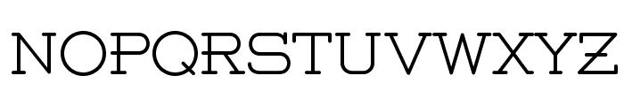 Weston-Light-Free Font UPPERCASE