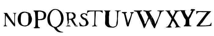Westsac Font UPPERCASE