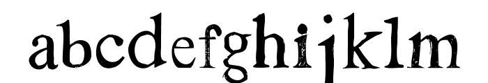 Westsac Font LOWERCASE