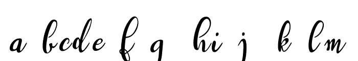 Westyler Demo Font LOWERCASE