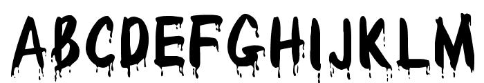 WetPaint Font UPPERCASE