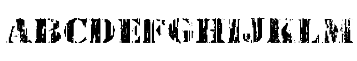 Wetworks Expanded Font LOWERCASE