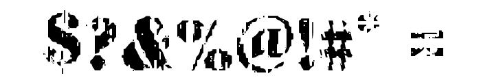 Wetworks Regular Font OTHER CHARS