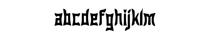 Wewak Narrow Font LOWERCASE