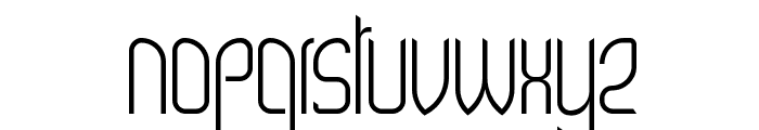 Wex Font LOWERCASE