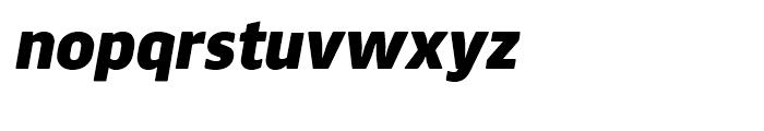 Webnar Black Italic Font LOWERCASE