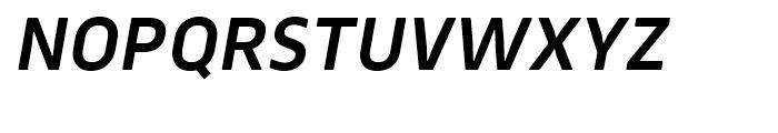 Webnar DemiBold Italic Font UPPERCASE