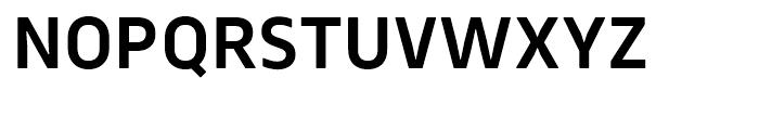 Webnar DemiBold Font UPPERCASE