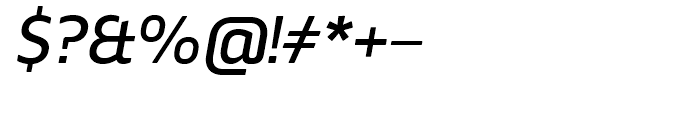 Webnar Medium Italic Font OTHER CHARS