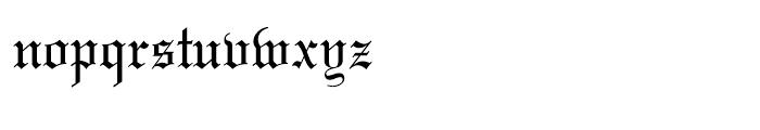 Wedding Text Regular Font LOWERCASE