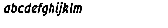 Wevli Condensed Bold Italic Font LOWERCASE