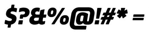 Webnar Black Italic Font OTHER CHARS