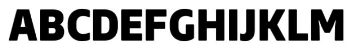 Webnar Black Font UPPERCASE