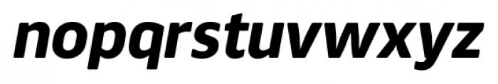 Webnar Bold Italic Font LOWERCASE