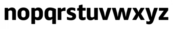 Webnar Bold Font LOWERCASE