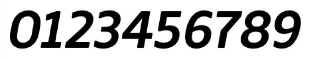Webnar Demibold Italic Font OTHER CHARS