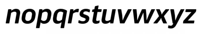 Webnar Demibold Italic Font LOWERCASE