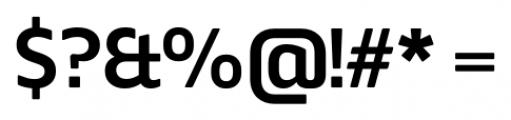 Webnar Demibold Font OTHER CHARS