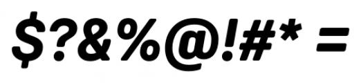 Weissenhof Grotesk Bold Italic Font OTHER CHARS